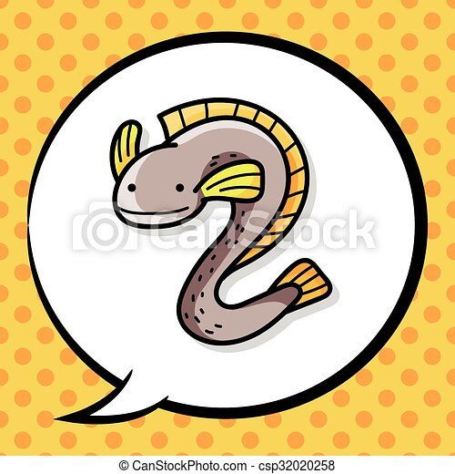 sea animal eel doodle clipart vector search illustration drawings rh canstockphoto com esl clip art eel clipart images