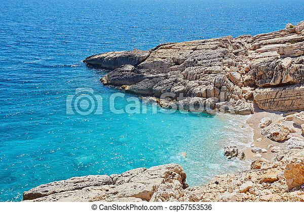 Sea beach in Turkey. - csp57553536