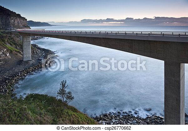Sea Cliff Bridge - csp26770662