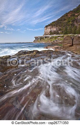 Sea Cliff Bridge - csp26771350