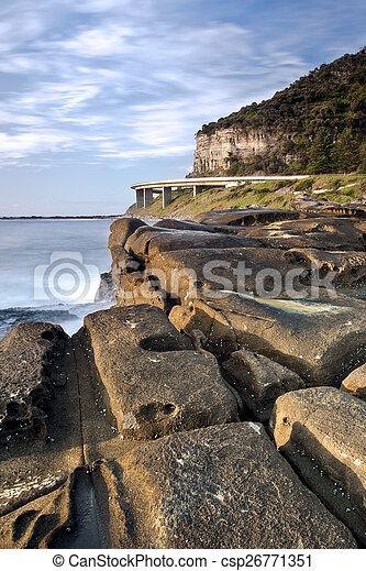Sea Cliff Bridge - csp26771351