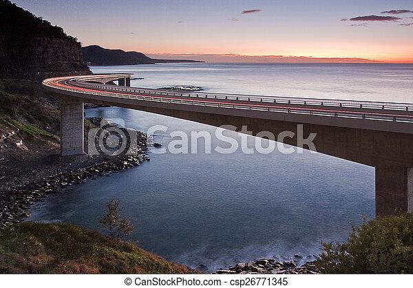 Sea Cliff Bridge - csp26771345