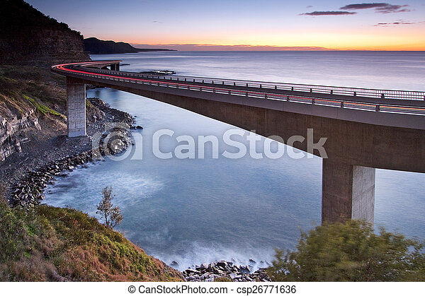 Sea Cliff Bridge - csp26771636
