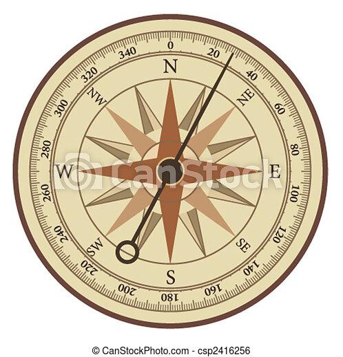 Sea compass - csp2416256