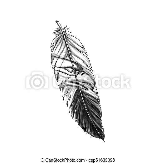Clip Art Eagle Feather Tattoo Free Vector And Clipart Ideas