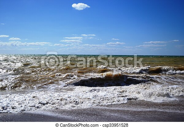 Sea excitement - csp33951528
