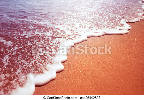 Sea Foam From A Wave - csp26442897