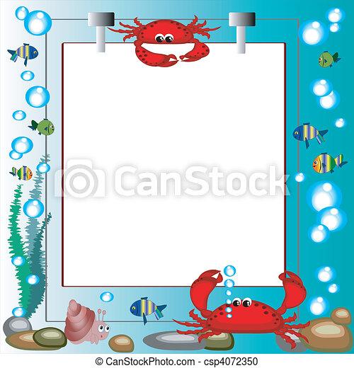 Sea frame - csp4072350