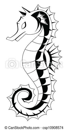 sea horse - csp10908574