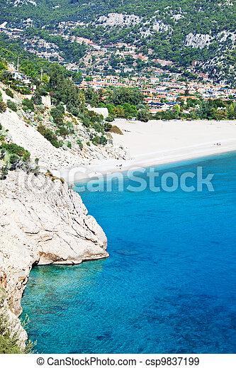 Sea in Turkey - csp9837199