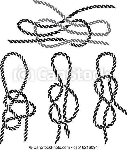 Sea knot set stencil - csp16216094
