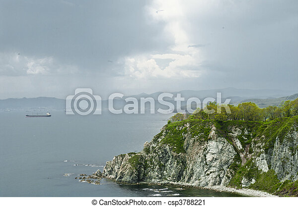 Sea landscape - csp3788221