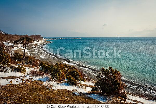 Sea landscape - csp26943488