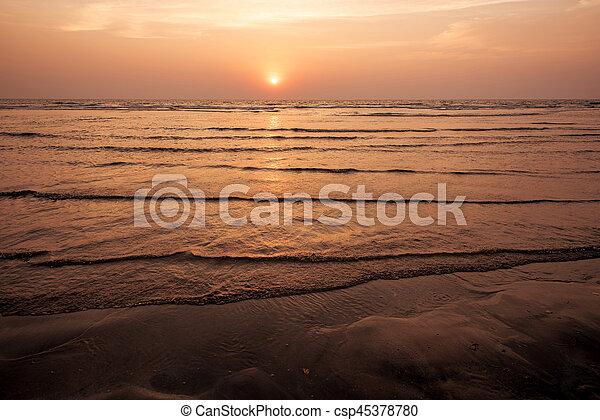 sea landscape - csp45378780