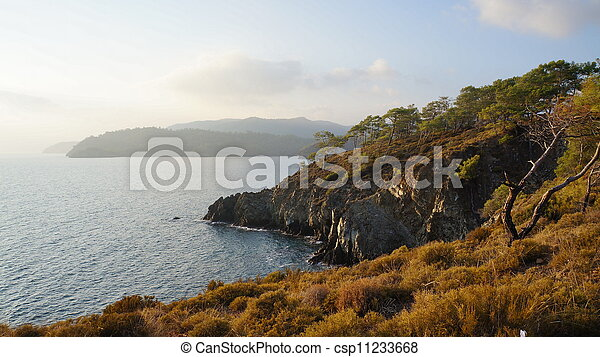 sea landscape - csp11233668