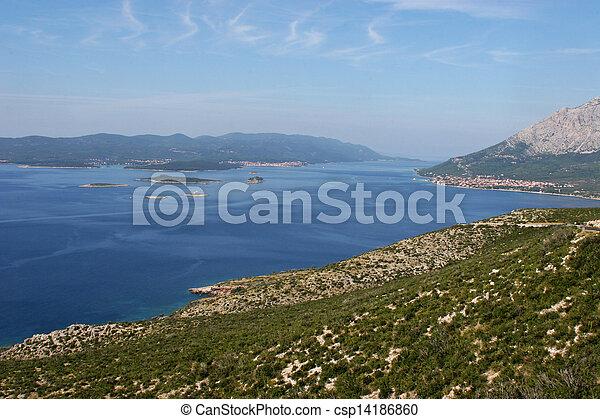 Sea landscape - csp14186860