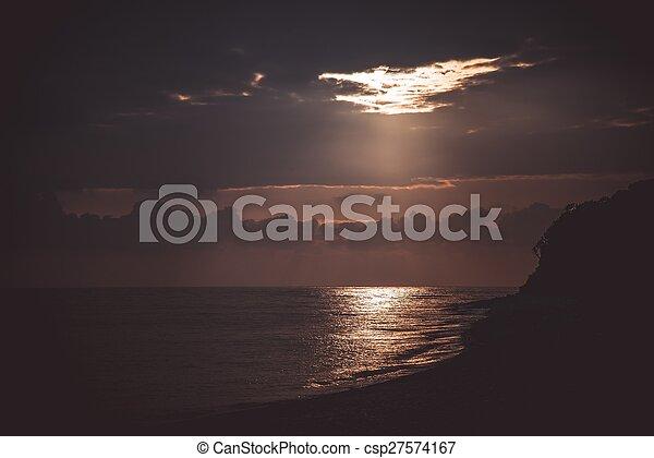 Sea landscape - csp27574167