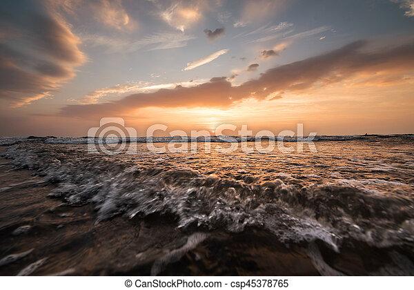 sea landscape - csp45378765