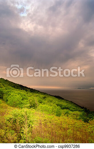 Sea landscape - csp9937286