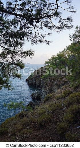 sea landscape - csp11233652
