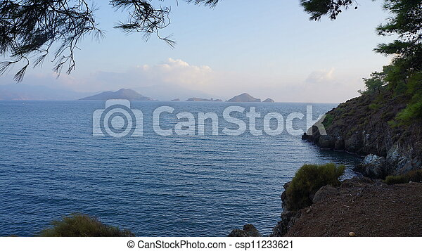 sea landscape - csp11233621