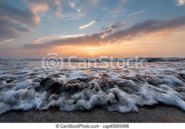 sea landscape - csp45693498