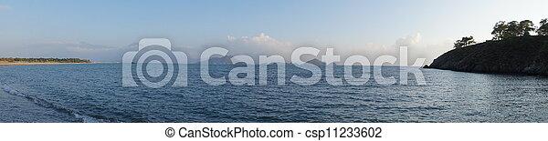 sea landscape - csp11233602