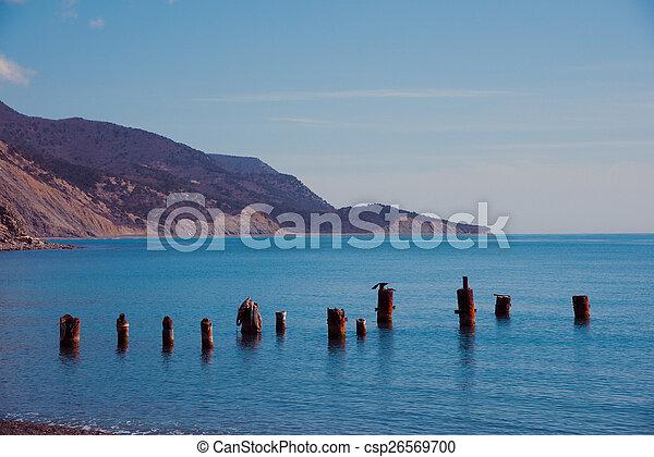 Sea landscape - csp26569700