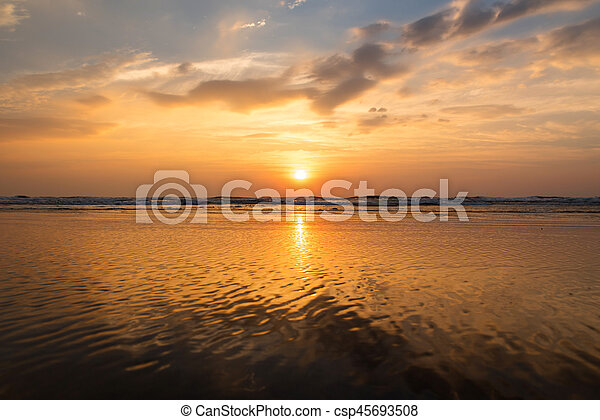 sea landscape - csp45693508