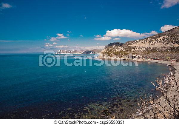 Sea landscape - csp26530331