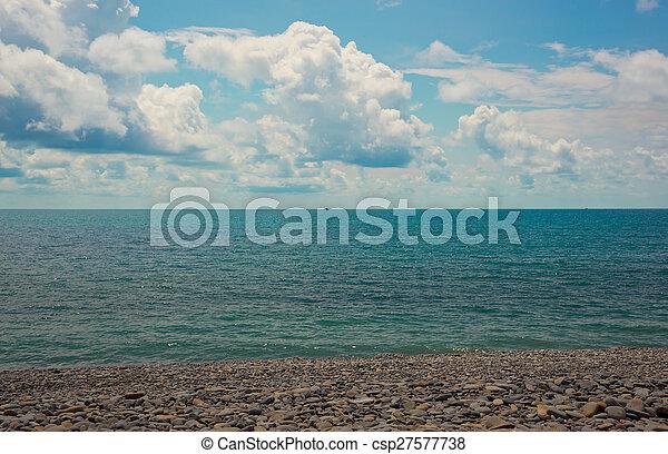 Sea landscape - csp27577738