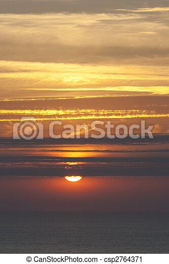 sea landscape summer - csp2764371