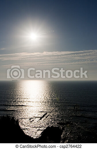 sea landscape summer - csp2764422