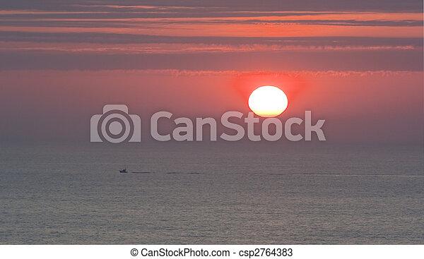 sea landscape summer - csp2764383