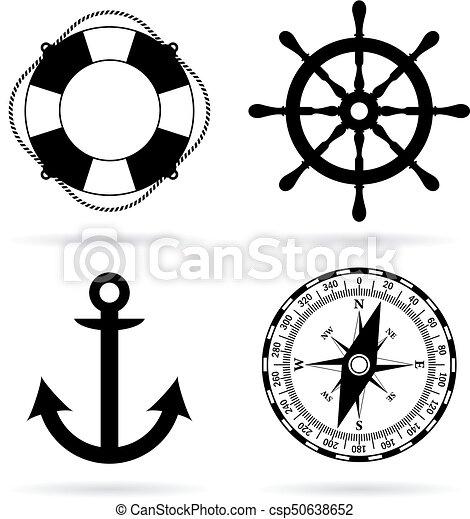 Sea maritime icon - csp50638652