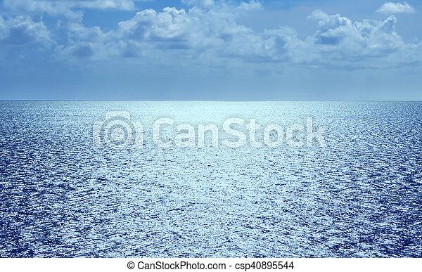Sea Or Ocean Water Background
