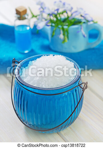 sea salt - csp13818722