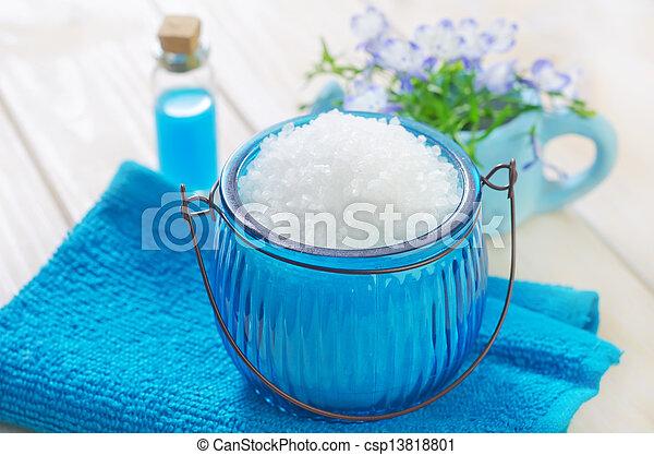sea salt - csp13818801