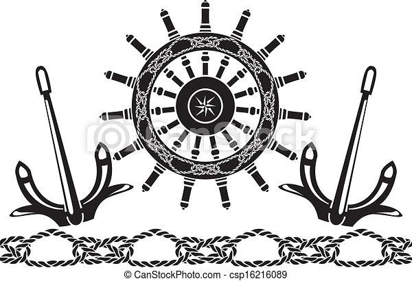 Sea stencil set - csp16216089
