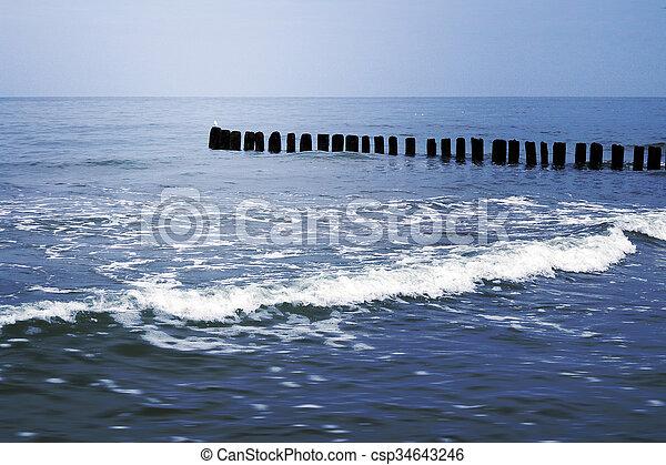 Sea Summer Background - csp34643246