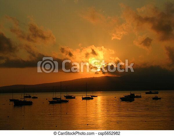 Sea sunset 3 - csp5652982