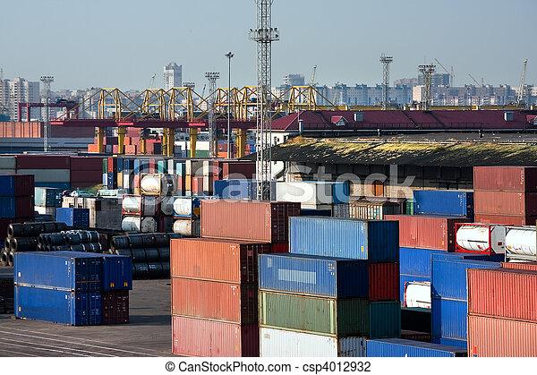 Sea trading port - csp4012932