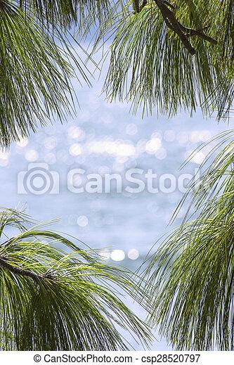 Sea View as travel concept - csp28520797