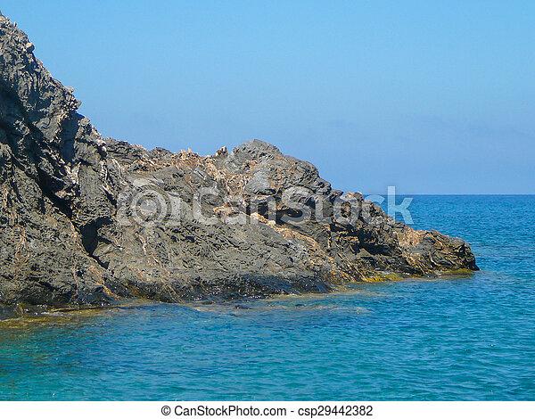 Sea view in Argentiera - csp29442382