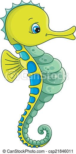 seahorse green blue ocean sea vector vector clip art search rh canstockphoto com seahorse clipart images