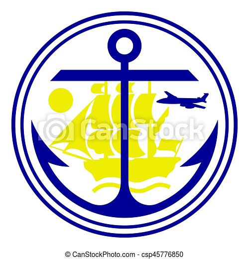 seal of anchorage alaska usa vector format clipart vector rh canstockphoto ie seal victory age of wonder 3 seal victor #60954