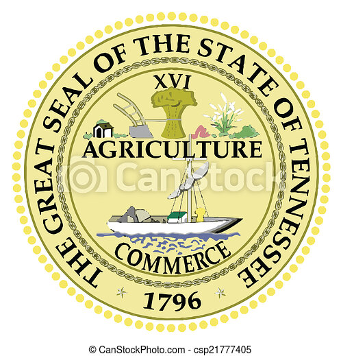 Seal of Tennessee - csp21777405