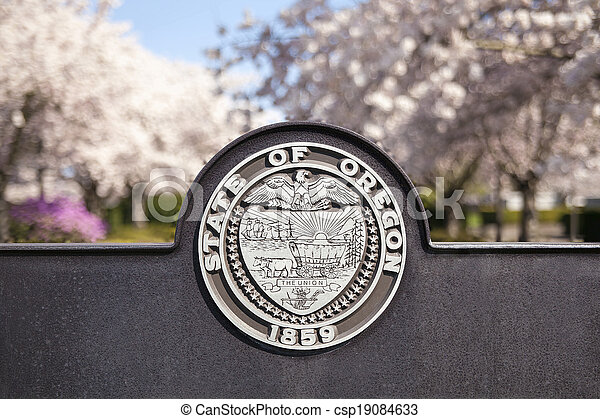 Seal of the State of Oregon - csp19084633