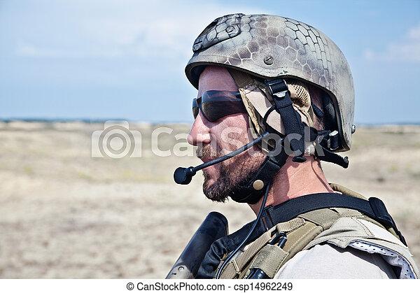 SEAL team member - csp14962249