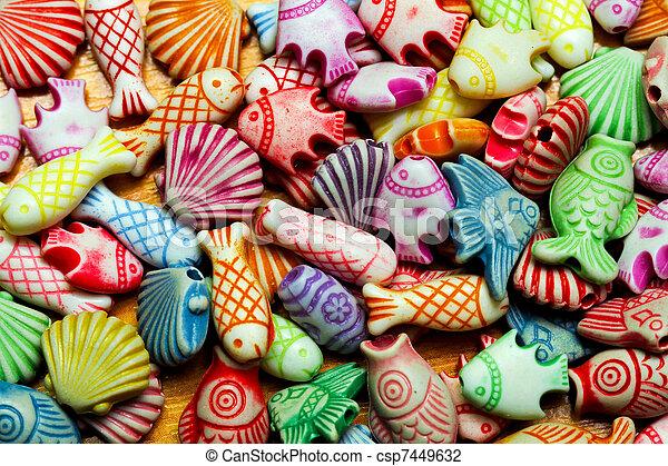 Sealife beads - csp7449632